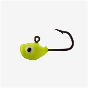Doug Chartreuse Glow 1 / 16 oz - Tungsten Ice Jigs 2 pack